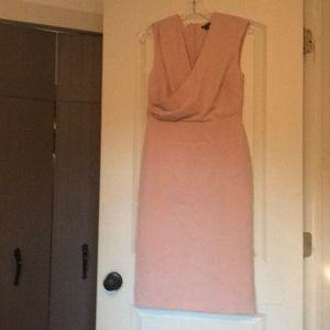 Ann Taylor blush dress